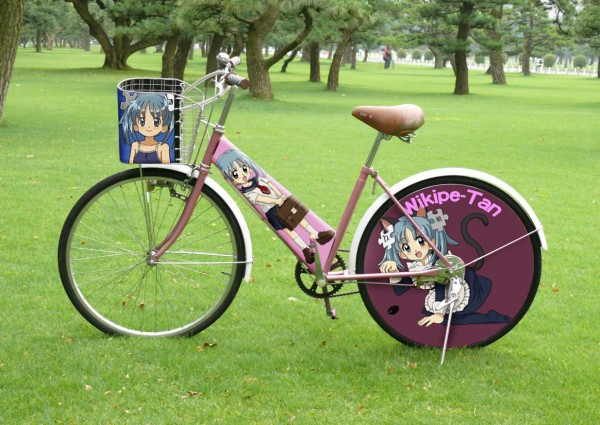 普通の自転車じゃつまらない!ステッカーを使ってオリジナル自転車に