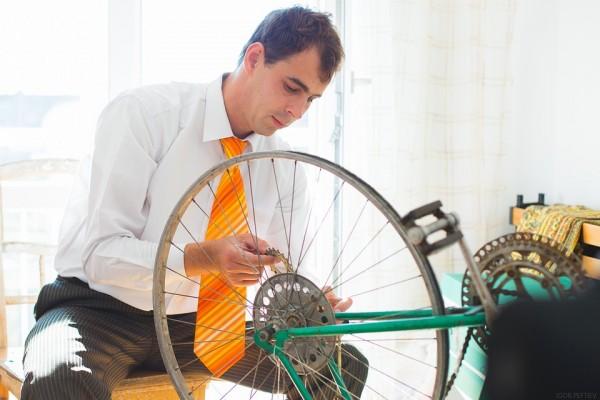自転車通勤に最適な服装とは?スーツでも安心な汗対策を教えます!