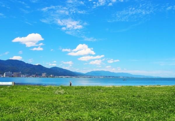 琵琶湖でサイクリングを満喫!日本一大きな湖の水辺を爽快に走ろう