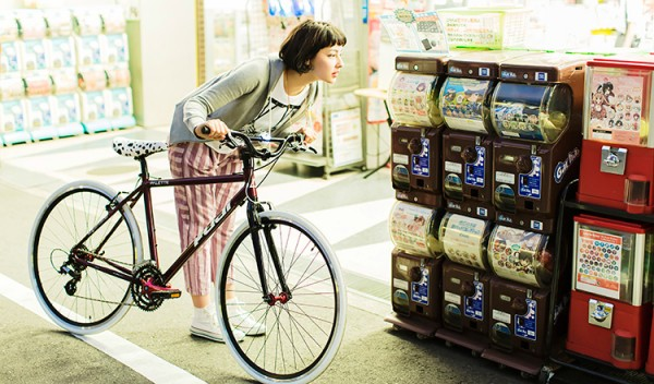 fujiのpaletteがかわいい!一緒に散歩したいおしゃれなクロスバイク