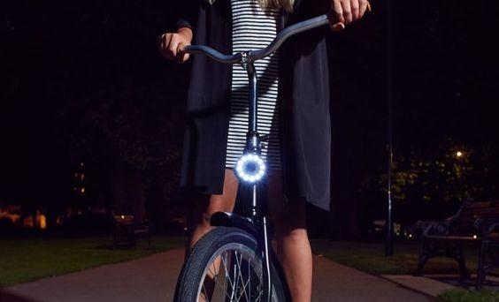 自転車におしゃれなライトをセットしよう。はじめてのライト選び