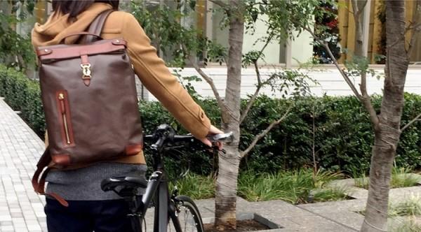自転車通勤もエレガントにキマる!女性におすすめリュック【10選】