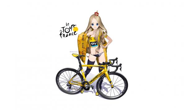 【自転車×萌えの真骨頂】二次元の女の子と自転車のイラスト20選