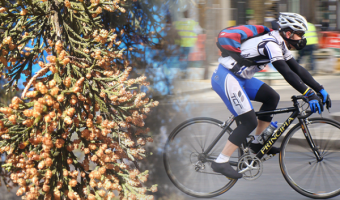 【完全版】自転車乗りに最も効果的な花粉症対策とは?死の季節に活路を